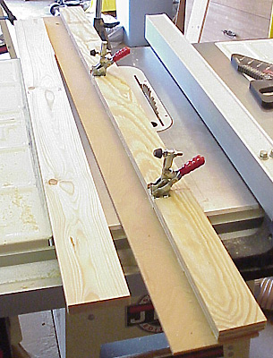 7 Table Saw Jointing Jig Plans  Straight Edge  No Jointer. 7 Table Saw Jointing Jig Plans  Straight Edge  No Jointer