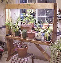 Plant Light Stand Plans