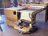 Rolling Table Saw Cabinet Plans