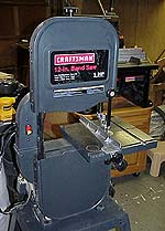 Craftsman 12 bandsaw newwoodworker llc top my new band saw center the fence was extra but well worth it bottom the circle cutting jig from the shopnotes plans it works great and was fun keyboard keysfo Choice Image