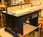 Bosch ra1181 router table newwoodworker llc the bosch 1181 may be designated as a benchtop router table but its capabilities go far beyond what i expected click image to enlarge greentooth Gallery