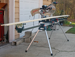 Bosch Folding Leg Miter Saw Stand - NewWoodworker com LLC