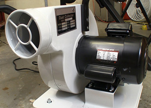 Rockler portable dust collector llc for Portable dust collector motor blower