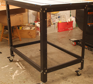 This Is Actually A Universal Leg Set (left) That Fits Many Applications,  Including The Rockler T Track Table Top. The Materials Are Heavy Duty And  The ...