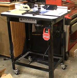 Rockler router table package newwoodworker llc you will note that everything is dusty in the photos and video that is because as in your shop my router table is an anchor machine that gets used keyboard keysfo